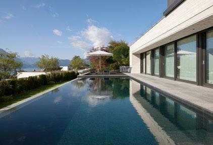 Villa mit Berg- und Seesicht, Meggen / 2013