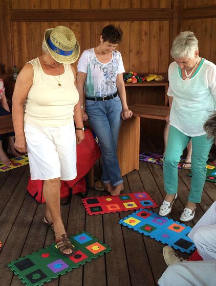 Life Kinetik Training - Gehirntraining - für Senioren mit Begle Balance