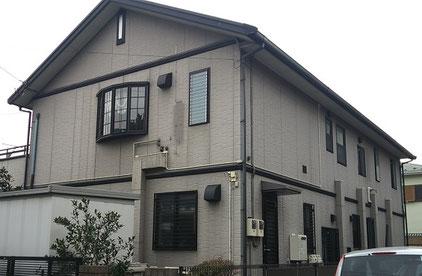 さいたま市中央区の戸建住宅、外壁塗装工事前の写真
