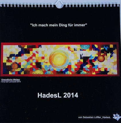 """Kalender 2014"" von Sebastian Löffler_HadesL"
