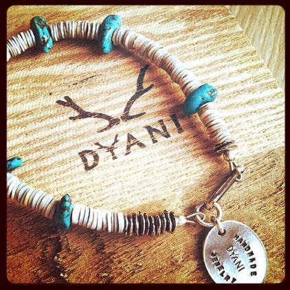 OCEANS 2015. 7月号  PORT OF CALLショップ特集  モデル使用アイテム  ・Shell Bracelet / DYANI Handmade jewelry  #OCEANS #PORT OF CALL #大人のサマースタイル