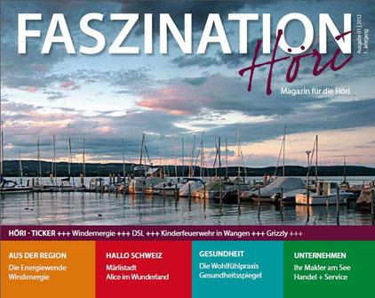 "Titelbild Novemberausgabe ""Faszination Höri""  | 2012"