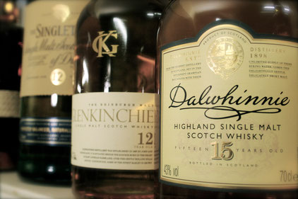 highland single malt whisky dalwhinnie