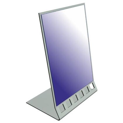 Напольное зеркало для примерки обуви MIR 002