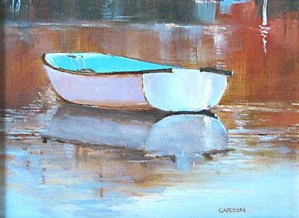 Quissett; oil on panel