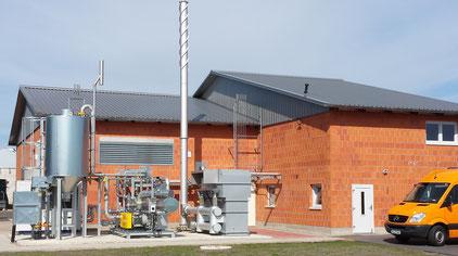 Biogasvorreinigung
