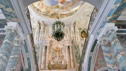 Schloss Augustusburg in Brühl Sehenswürdigkeit Barock Schloss  Augustusburg in Brühl  und die barocke Gartenanlage