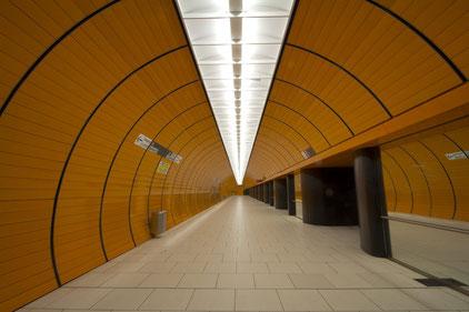 U-Bahnhof Marienplatz München (RAW-Version)