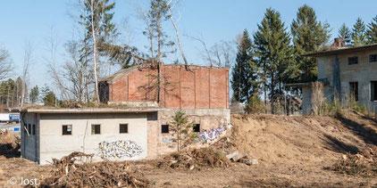 Industrieanlage Frauenwald Kesselhaus
