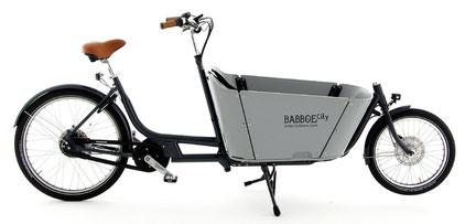 Babboe City Mountain Lasten e-Bike, Lastenfahrrad mit Elektromotor, e-Cargobike 2019