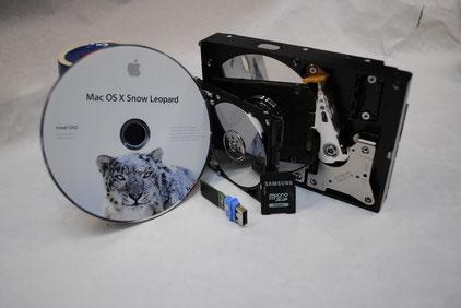 Datenrettung von Apple Geräten