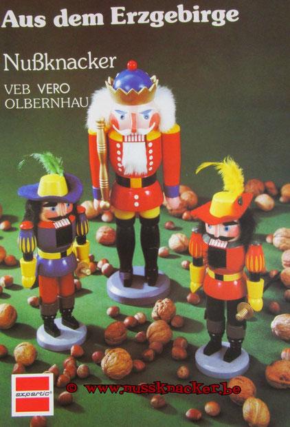 ... altes Werbeplakat der VEB VERO OLBERNHAU