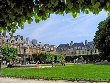 Bild: Parc des Voges, Paris