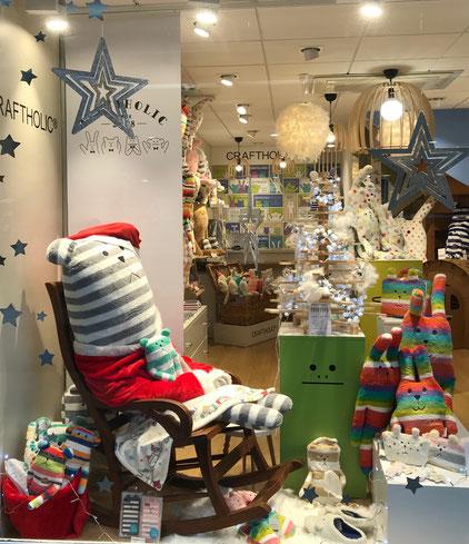 Noël chez Craftholic-Atlantic : le père noël se prépare tranquillement ...
