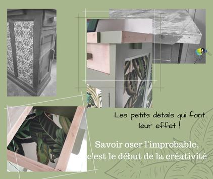 """recyclage, upcycling, bureau, style nature, ambiance naturelle, création déco """"avec presque rien"""""""