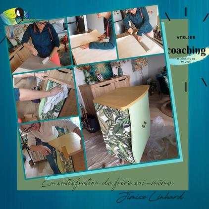 atelier sur mesure, coaching, relooking de meuble