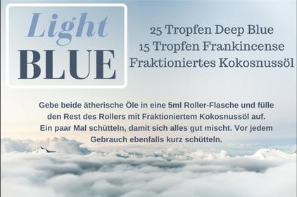 deep blue light roller