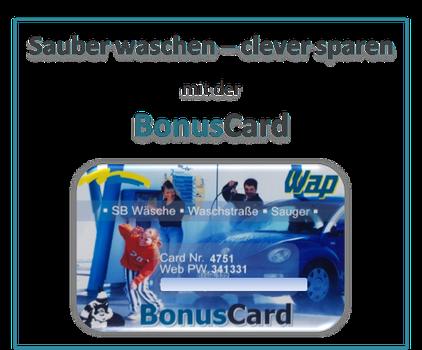 Bonus Card für Autowäsche Biberach