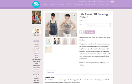 Silk Cami von Sew Over It