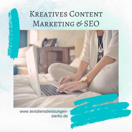 Kreatives Content Marketing führt deine Business Webseite oder deinen Onlineshop zum Erfolg