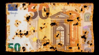 Euroscheine... PNG-Format. 2020 © Travelmaus.de