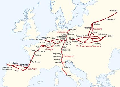 Quelle: de.wikipedia.org/wiki/Via_Regia