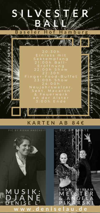 queerer Silvester Ball 2019 / Flyer hinten