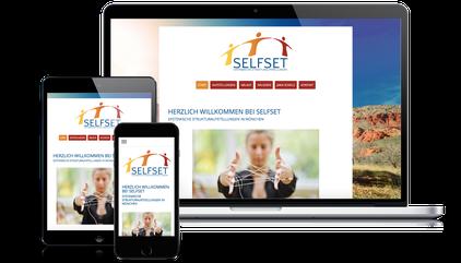Selfset ist Kunde der Web-Manu-Faktur München