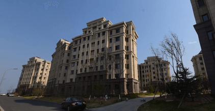 大連外国語大学周辺のマンション