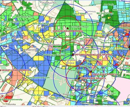 MMS.IND, Micro-market segmentation India, Market Potential India, Market Segmentation, Market Penetration, Location Analysis India, New Store location Identification, Store location analysis, location analysis