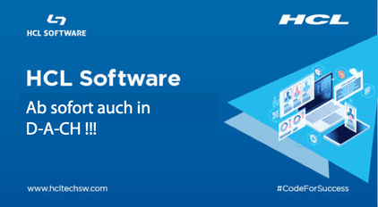 HCL Software - Ab sofort auch in D-A-CH !!!