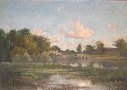 H. Amirault - Le pont de Sunay