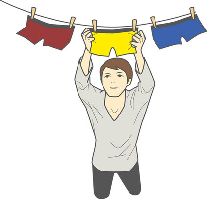 free underpants in japan