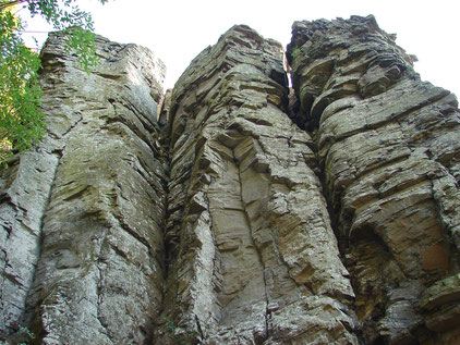 Badacsony, Basaltorgeln, Ungarn