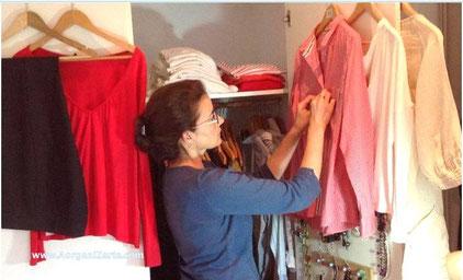 Ordenar y organizar el armario - www.AorganiZarte.com