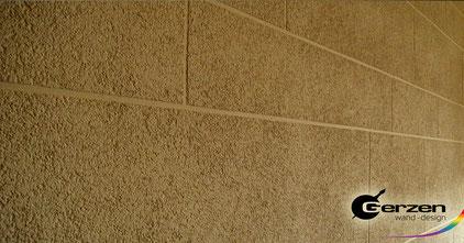 Dekorputz und edelputz streichputz kellenschlag savanne for Wand ausbessern farbe