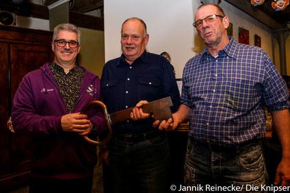 In Vertretung von Stadtbürgermeister Goller nahm Rolf Kommer den Stadtschlüssel entgegen.