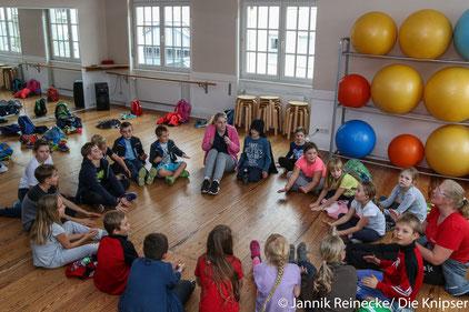 An den Herbstferienspielen der TGO nahmen 21 Kinder teil.