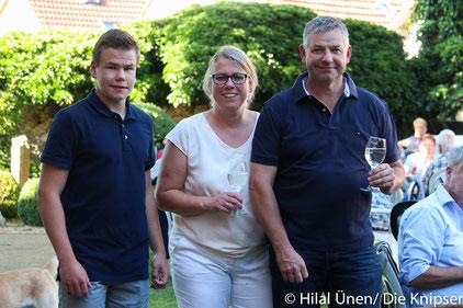 Familie Blass, die Besitzer des Weinguts Schützenhof