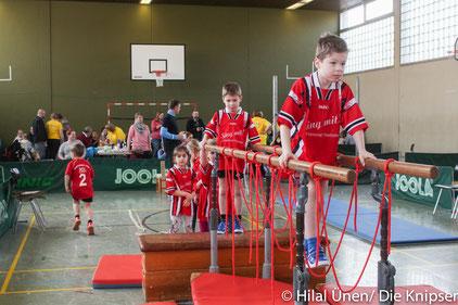 Der Kinderturntag der TG Westhofen machte den Kindern sehr viel Spaß.