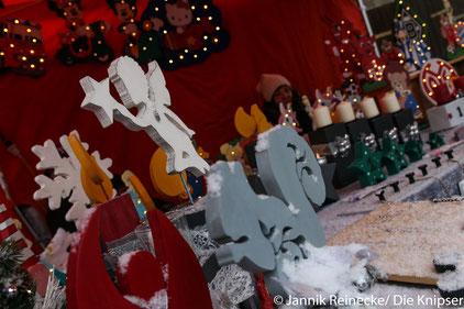 Auf dem Weihnachtsmarkt in Gundersheim gab es tolle Handwerksgegenstände zu kaufen.