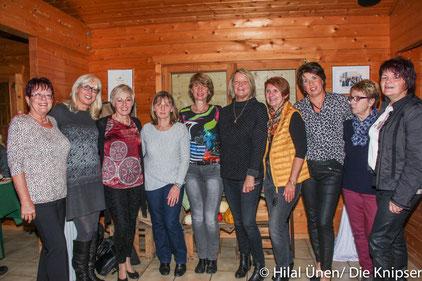 Die Damen der TGO Tennisabteilung feierten ihren Saisonabschluss in ihrem Vereinsheim.