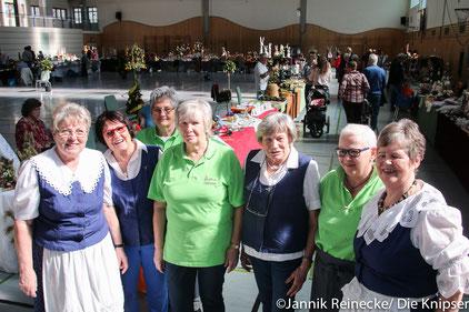 Die Landfrauen auf der Hobby- und Osterausstellung  2017. Archivfoto