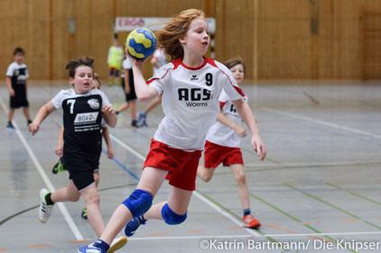 Die Osthofener E-Jugend war erfolgreich gegen die HSGler aus Worms.