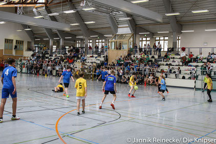 Vom 6. bis 8. Januar trugen die Klassen der IGS ihre Fußball-WM in der Wonnegauhalle aus.