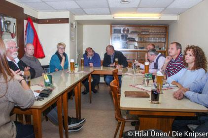Der Stammtisch des Bürgervereins Wonnegau e.V.