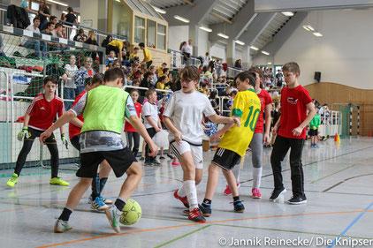 Organisiert wurde das Turnier durch die Schülervertretung.