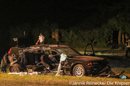 Verkehrsunfall im Wormser Friedrichsweg.