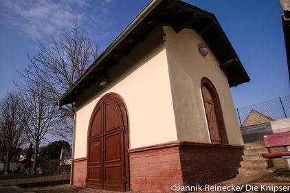 Das Eichhäuschen in der Altbachanlage Osthofen.