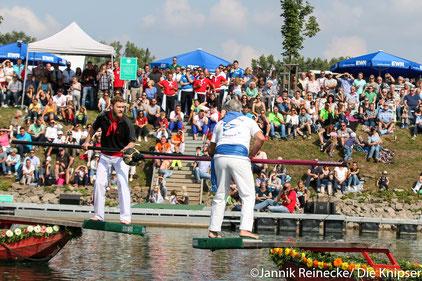 Das Fischerstechen 2017. Archivfoto